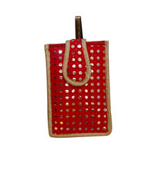 Aabla mirror mobile cover red shop online