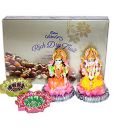 Buy Cadbury Rich Dry fruits with Divine gifts diwali-chocolate online