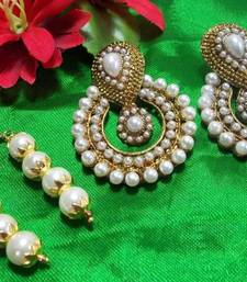 Pearl Polki Earrings buy 1 get 1 free  shop online
