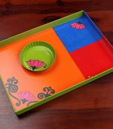Buy Tray with Snacks plate trll  decorative-plate online