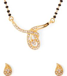 Buy Gold beaded_jewellery mangalsutra mangalsutra online