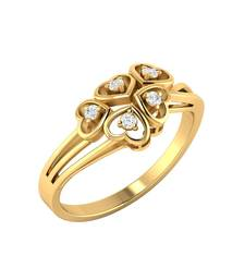 Buy Gold studded_jewellery rings wedding-ring online
