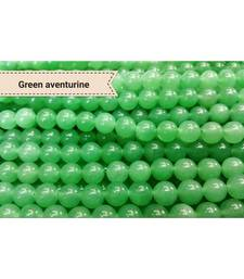 Buy Green aventurine 108 beads mala chakra healing crystal gemstone jewellery other-gemstone online
