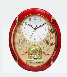 Buy Beautiful wall red wall clock new-year-gift online