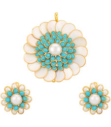 Buy Pachi Pacchi Pachchi Pearl set jewellery pearl necklaces set bridal jewellery sets Pendant online