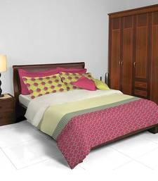 Buy hmv Satin Dbl Bedsheet-Pink bed-sheet online