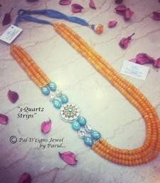 Buy 3-Quartz Strips (Neckline) Necklace online