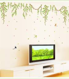 Buy Amazing Bird Nets' Wall Sticker (60 cm X 90 cm) wall-decal online