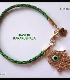 Buy Hamsa Bracelet - Green bangles-and-bracelet online