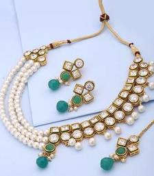 Buy Gold crystal jewellery Jewellery online