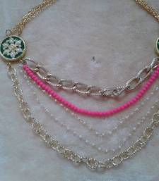 Buy fancy rich looking necklace Necklace online