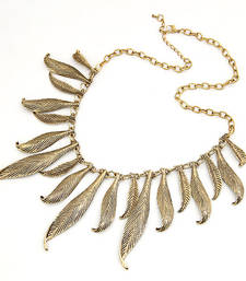 Buy Antique Alloy Leaves Collar Necklace(CFN0136) gifts-for-her online