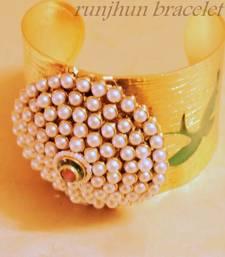 Buy broad polki bracelet Bracelet online