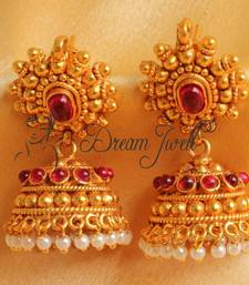 Buy GORGEOUS ANTIQUE KEMP JHUMKKA jhumka online