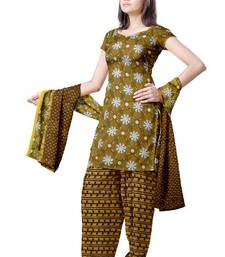 Buy Traditional Geometric Synthetic Dress Material PSS160 salwars-and-churidar online