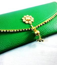 Buy Dark Green String Drop Wallet wallet online