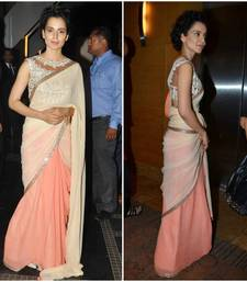 Buy Latest Kangana Ranaut Heavy Blouse saree other-actress-saree online