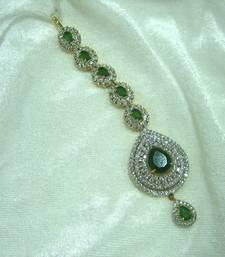 Buy Designer American diamonds Mang tikka maang-tikka online