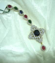 Buy Designer American diamonds Mang tika maang-tikka online