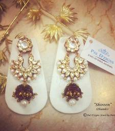 Buy Shireen Red  Zhumki  jhumka online