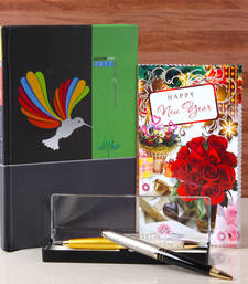 Buy Diary book with pen holder for new year gifting new-year-gift online