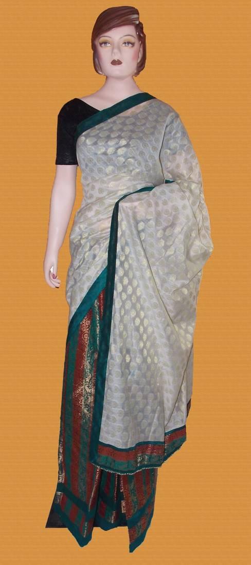 Buy Chanderi Silk Mekhela Chadar Online