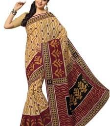 Buy AriaCream cotton printed summer collection saree ks339 cotton-saree online