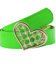 "Buy "" Green Color"" Belt Combo For Womens gifts-for-sister online"