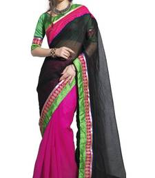 Buy indian Latest New Cotton Supernet Saree by Sareez house cotton-saree online