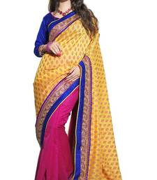 Buy indian Latest fashion new cotton supernet Saree By Sareez house cotton-saree online