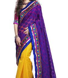 Buy indian Bollywood style Supernet cotton saree by sareez house cotton-saree online