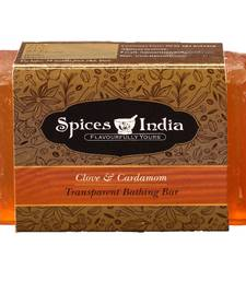 Buy Flavourit clove and cardamom transparent bathing bar masala-spice-mix online
