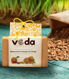 Buy Wheat germ orange vit e natural handmade soap personal-cis online