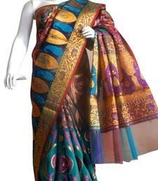 Buy Banarasi Art Silk Saree Zari Weaving banarasi-silk-saree online