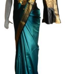 Buy Trquoise  Banarasi Silk Saree  3010-2247 banarasi-silk-saree online