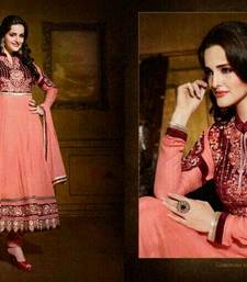 Buy Heavy Embroidered Georgette Suit with Embroidered Yoke and Border  pakistani-salwar-kameez online