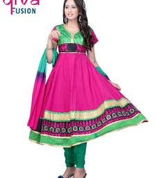 Buy Party/Festival wear Designer Anarkali Suits Diwali shopping diwali-discount-offer online