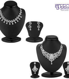Buy Sukkhi Stylish 2 Piece Necklace Set Combo(209CB2900) jewellery-combo online
