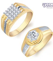 Buy Sukkhi Dazzling 2 Piece Ring Combo for Men(224CB1190) jewellery-combo online