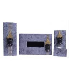 Buy Candle Holder with Tissue Box Holder (Set of 3) candle online