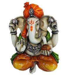 Buy Dagdu Ganesha Wall Hanging wall-decal online