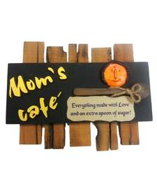 Buy Moms Cafe - Kitchen Name Plate wall-decal online