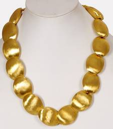 Buy Gold drums traditional necklace Necklace online