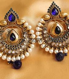 Buy BEAUTIFUL ANTIQUE EARRINGS danglers-drop online