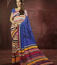 Buy Trendy Multicolor Georgette Saree georgette-saree online