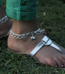 Buy Layered Chains Anklet anklet online