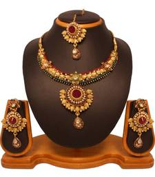 Buy Vendee Fashion Expensive Necklace Set 8104 necklace-set online