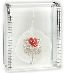 Buy Silver Peeple Leaf ganesha Idol g13silverpeepalleaf ganesh-chaturthi-gift online