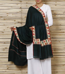 Buy Pure Pashmina Shawl with pure 100 yrs old kani border shawl online