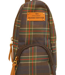Buy Clean Planet GlobeTrotter Classic Mini Backpack Accessory Case Navy Blue Checks backpack online